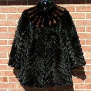 Jackets & Blazers - Exquisite Black Mink Stroller